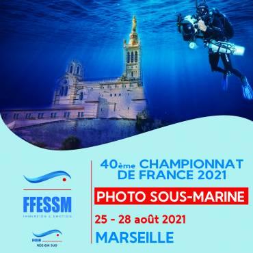affiche Championnat France Photo Video 2021
